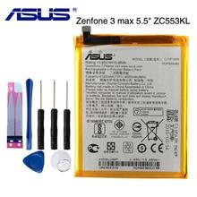 Original ASUS High Capacity C11P1609 Battery For ASUS Zenfone3 max 5.5 ZC553KL X00DDA Zenfone 4  max 5.2 ZC520KL X00HD защитное стекло partner для asus zenfone3 max 5 5 zc553kl 9h
