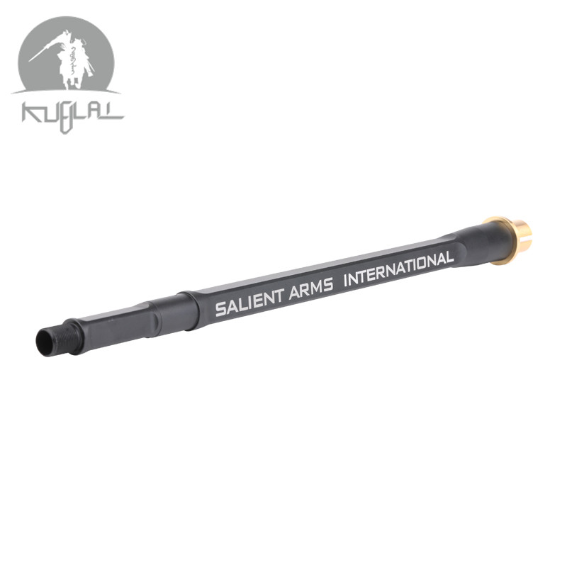 Kublai SAI 14 Inch BARRELS Barrel Metal Outer Rectangular Tube For Gel Blaster