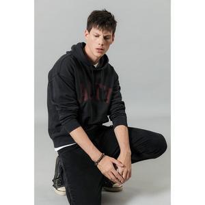 Image 3 - Simwood 2020 primavera inverno novo com capuz hoodies de alta qualidade carta impressão camisolas dos homens 100% algodão roupas vintage 190378