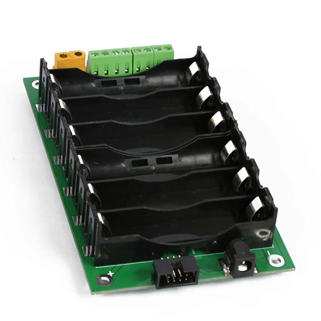 18650 배터리 박스 3S2P 배터리 팩 보호 보드가없는 Bms 배터리 홀더 Diy 프로그래밍 액세서리