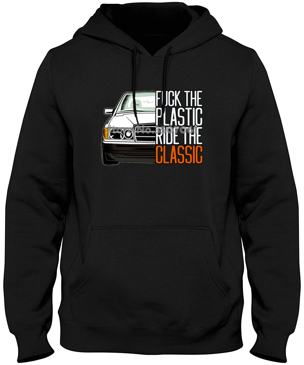 New Design W201 Mercedes Car Fashionable Casual 100% Cotton Fit For Man Camiseta Printed Mens Men Hoodies & Sweatshirts