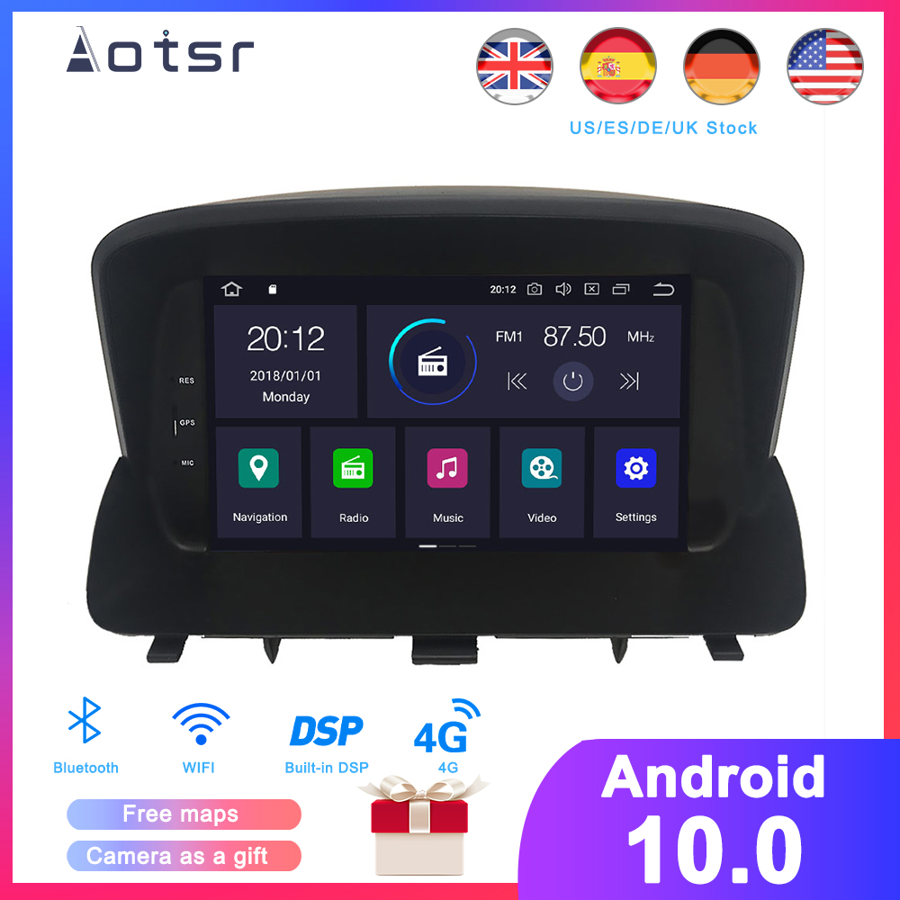 DSP Android 10,0 Auto GPS Navigation DVD Player Fü<font><b>r</b></font> Opel <font><b>Mokka</b></font> 2012-2016 Auto Stereo Radio Multimedia player Kopf einheit Recorder image