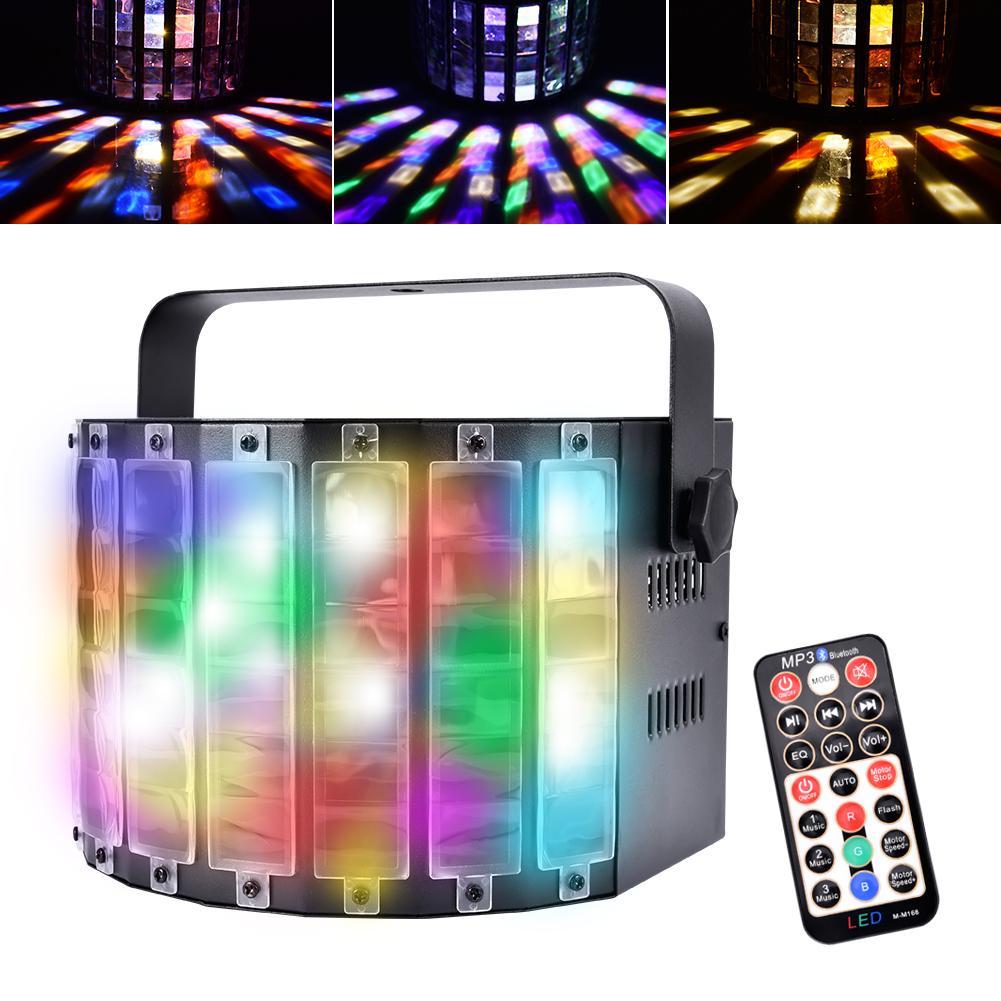 LED Flat Par RGB Color Lighting Strobe DMX Controller For Disco DJ Music Party Club Dance Floor Bar Darkening Stage Light