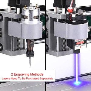 Image 3 - Лазерный гравер с ЧПУ 3018 Pro Max, 15000 МВт, GRBL DIY 3 оси, DIY мини деревообрабатывающий станок с автономным контроллером для дерева, печатной платы, ПВХ, Новинка