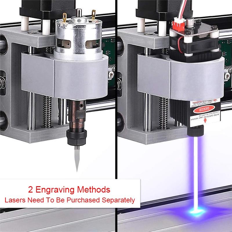 CNC 3018 Pro Max 15000mw Laser Stecher GRBL DIY 3 Achse DIY Mini Holz Router Maschine Mit Offline controller für Holz PCB PVC Neue