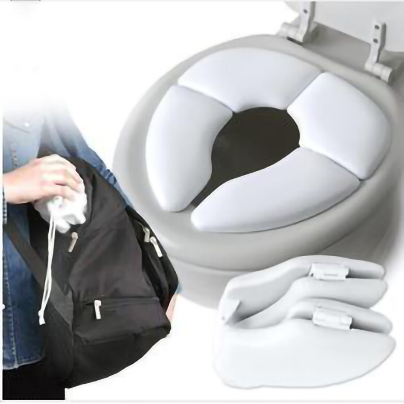 New Arrival Kids Potty Seat Cushion Foldable Soilet Seat Baby Toddler Travel Folding Padded Potty Seat Cushion Toilet Training