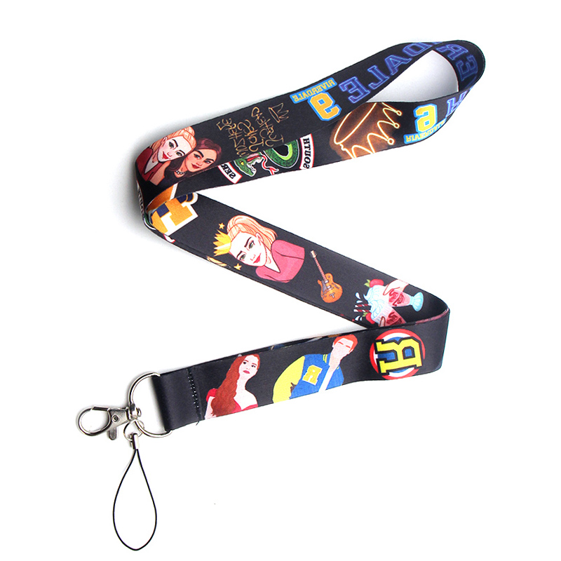 CA184 TV Show Riverdale Lanyards For Keychain ID Card Pass Mobile Phone USB Badge Holder Hang Rope Lariat Lanyard