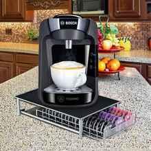 60 pod Tassimo coffee capsule rack holder rack drawer storage dispenser
