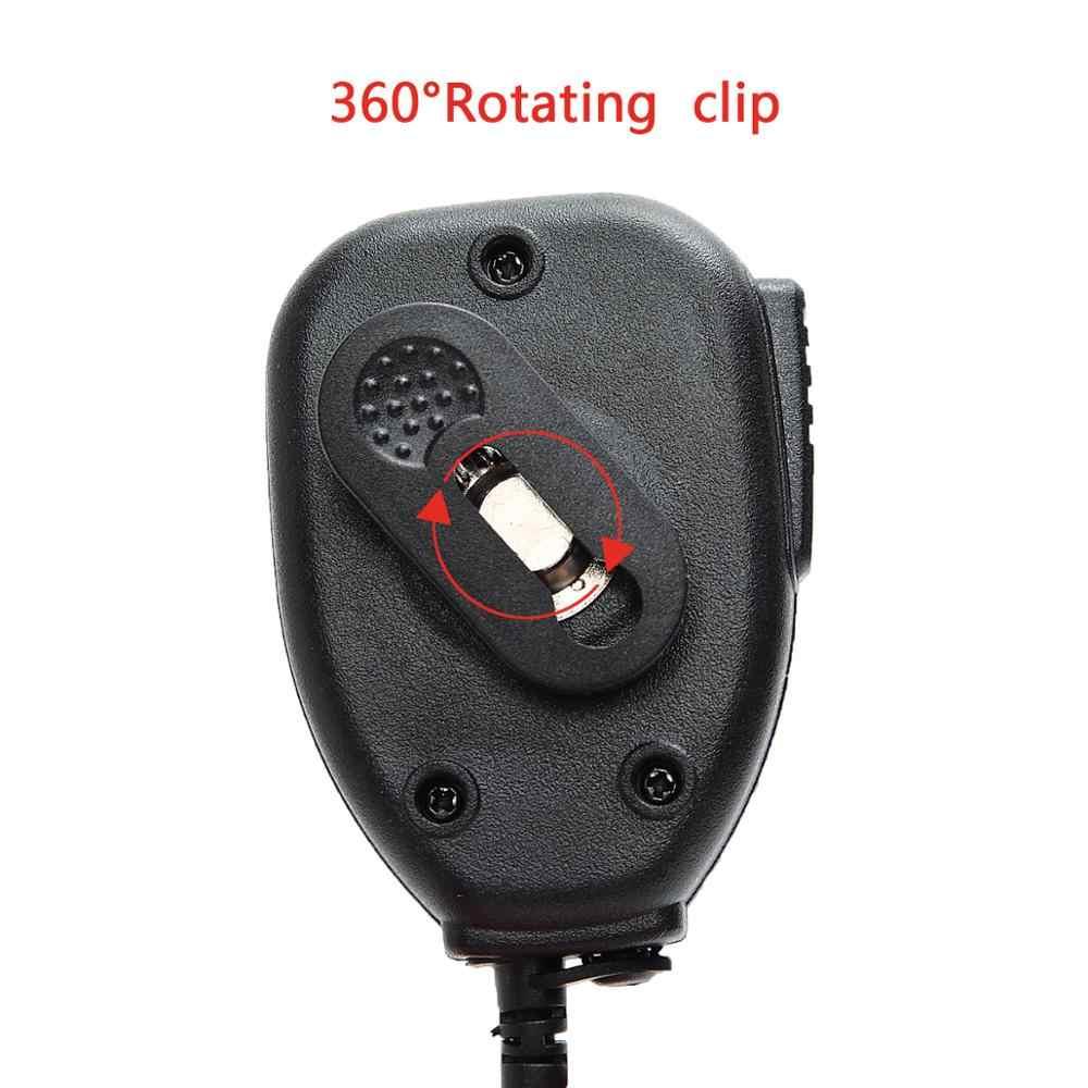 2pcs Baofeng Handheld Microfone Speaker MIC para Baofeng UV-5R BF-888S UV-S9 GT-3 UV-82 Plus Rádio em Dois Sentidos Walkie Talkie UV 5R