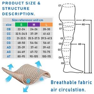 Image 5 - Findcool דק דחיסת גרביונים Slim דליות נשים קיץ גרביים רפואיים 15 20mmHg