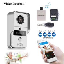 Smart Doorbell Wifi Video Intercom HD Camera Android/IOS Phone Motion Sensor Alarm Night Vision Home Office Wireless Door phone все цены