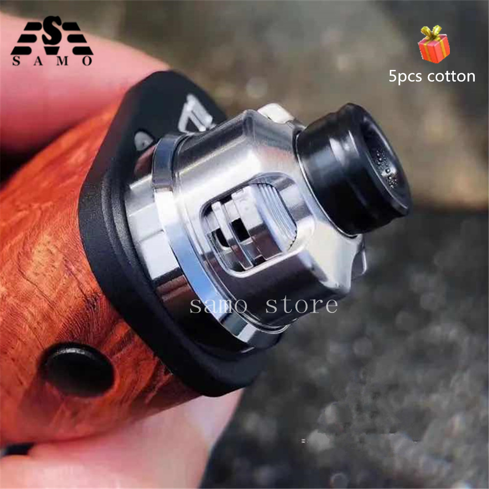 New Armor Mods Engine Rda With Bf Pin 316 Ss 22mm Replaceable Airflow Adjustable Control Single Coil Deck Vs La Dripper Rda