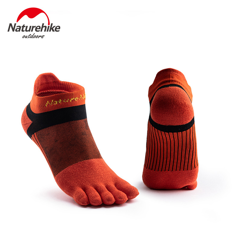Naturehike 1 Pair Running Toe Socks Quick Drying Sports Low Cut Sock Breathable For Outdoor Camping Hiking Trail Cycling Jogging