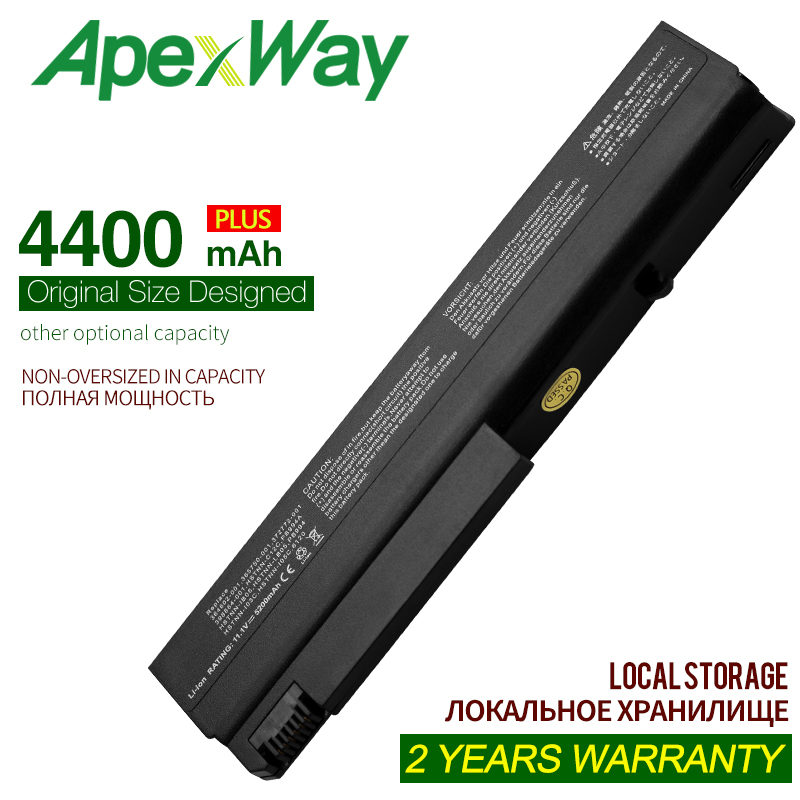 ApexWay 10.8V 4400mAh NC6120 laptop battery for <font><b>HP</b></font> Compaq 6910p 6510b 6515b 6710b <font><b>6710</b></font> 6715b 6715 NC6100 NC6105 NC6110 NC6115 image