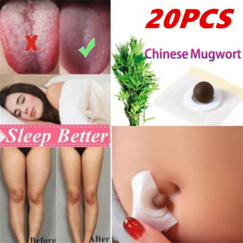 20pcs/30pcs Family Belly Button Stickers Cervical Spine Mugwort Leaf Essence Suitable For The Whole Body Moxibustion Stick