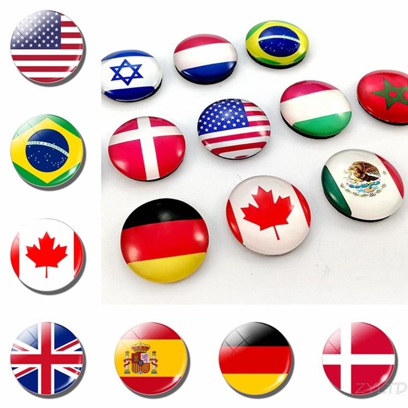 Магнитные магниты на холодильник, флаги мира, магниты на холодильник, Национальный флаг, Америка, США, Канада, Великобритания, Испания, Бразилия, Россия, финские страны