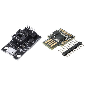 1pcs Development Programmer Board for Attiny13A & 1pcs Attiny85 Board Development Board Usb for Arduino Digispark pic18f4520 development board pic development board learning board experimental board