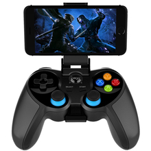 IPEGA PG-9156 9157 For Android iOS PC TV Box Wireless Bluetooth Gamepad Controller Flexible Joystick With Phone Holder
