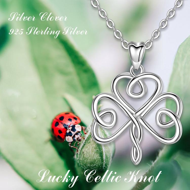 Chain knot 925 silver climbing luck