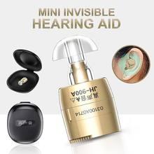 Hörgerät Gerät Digitalen Unsichtbaren Sound Verstärker MINI Einstellbare Klar Ohr hören Wireless für Ältere Moderate