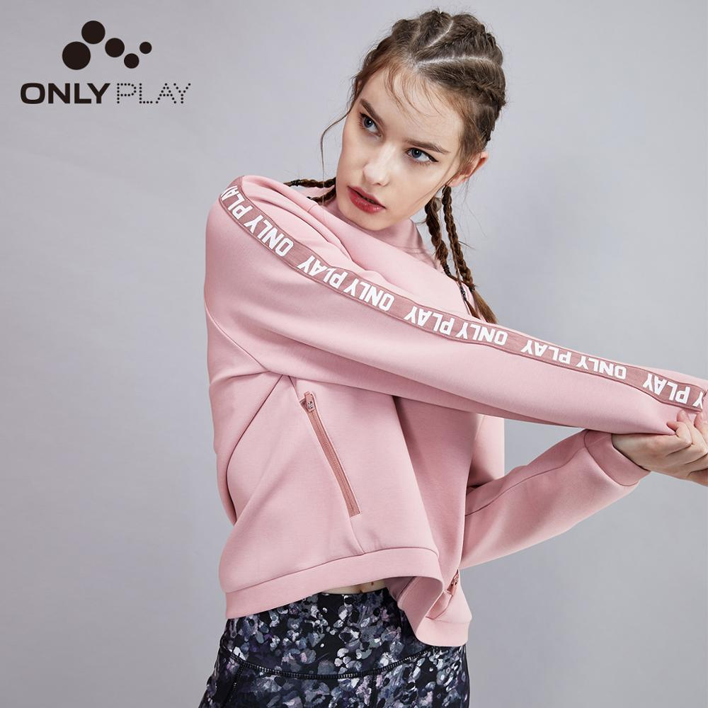 ONLY Women's  Loose Fit Letter Print Hoodie | 11939S605