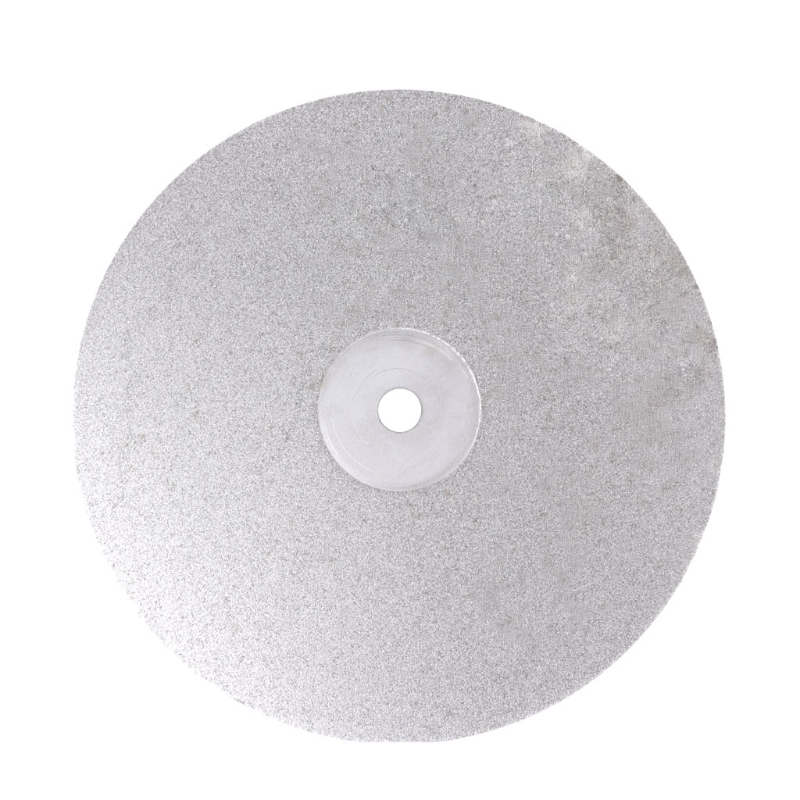 8Inch Grit 80-3000 Diamond Coated Flat Lap Wheel Jewelry Polishing Grinding Disc