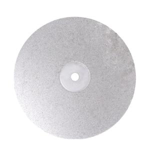 8 Polegada grit 80-3000 diamante revestido plana roda de volta jóias polimento disco de moagem