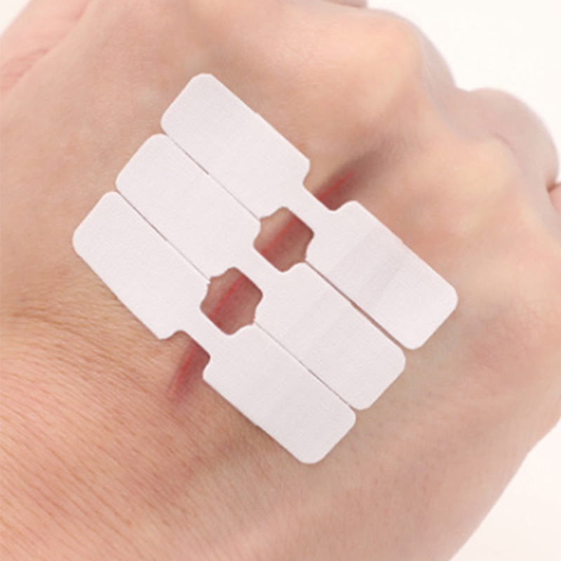 10PCs/Box Waterproof Band Aid  Butterfly Adhesive Wound Closure Band Aid Emergency Kit Adhesive Bandages