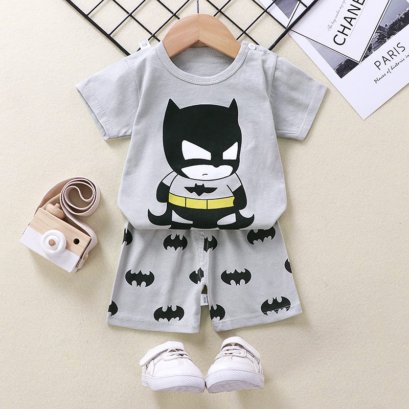 Boys Cartoon Animal T Shirt Cute Cotton T-shirt Short Sleeve Outfit  Boy Streetwear Clothes for Toddler Infant Kids Suit Summer 5
