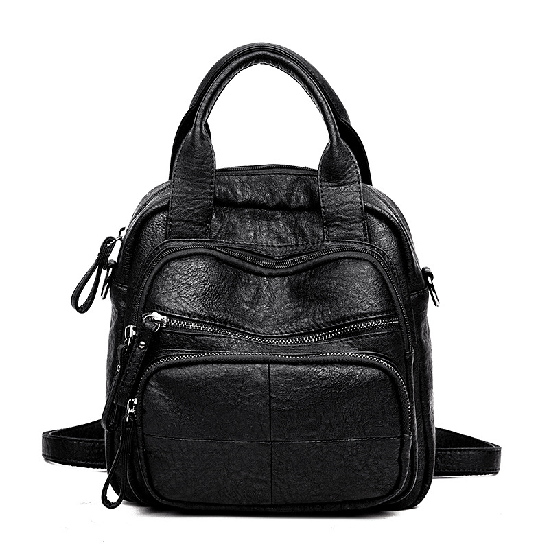 Backpack New Fashion Young Mom Shopping Leisure Backpack Multifunctional Schoolbag