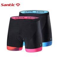 SANTIC Cycling Tights Short pant Pro Team Cycling Shorts Summer Breathable Bicycle Shorts Motocross Tights MensAutumn Sports