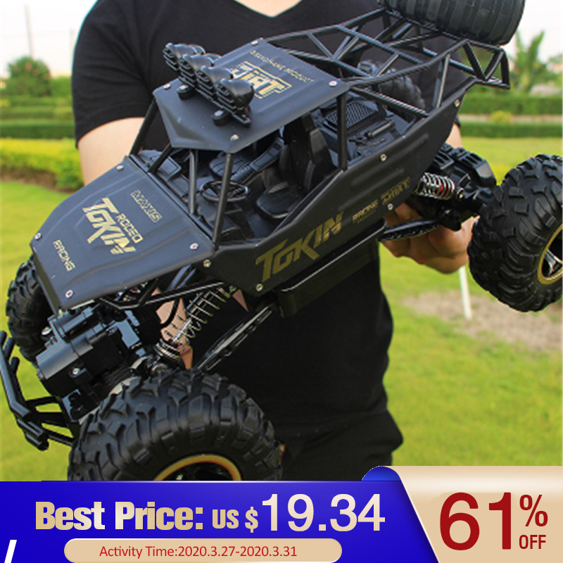 1:12 4WD RC Auto Versione Aggiornata 2.4G Radio Control RC Auto Giocattoli Buggy 2020 ad Alta velocità Camion Off-strada Camion Giocattoli per I Bambini