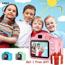 Детская мини-камера, обучающие игрушки для детей, подарок на день рождения, цифровая камера 1080 P, проекционная видеокамера