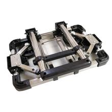 Полный складной багаж из нержавеющей стали для автомобиля, несущая способность 60 кг, легкий для переноски чемодан на колесиках, школьные сумки, тележки для покупок