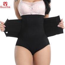 Guudia cintura formador corpo shaper calcinha controle de barriga mulheres emagrecimento shapewear emagrecimento underwear pós-parto cinta de cinto