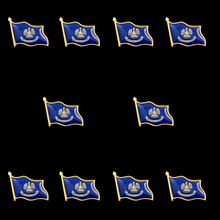 10PCS USA State Louisiana Enamel Pins Badge Backpack Tat Lapel Pin Jewelry стул louisiana