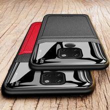 For huawei mate 20 lite leather case of pro soft phone cover for 30 20x