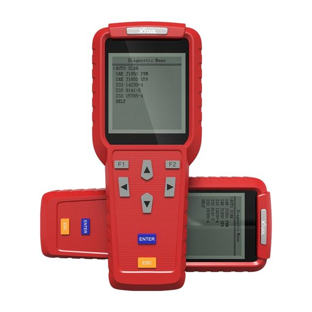 Автомобильный сканер XTOOL X100 Pro, Автомобильный сканер OBD2, ключевой программатор/Регулировка пробега, ЭБУ, иммобилайзер, считыватель пин кодов
