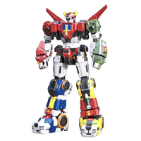 Titan Power TP 01 TP01 Beast King GoLion Voltron Defender Of The Universe Action Figure Toy Anime Model 30cm ABS Alloy LED Figma
