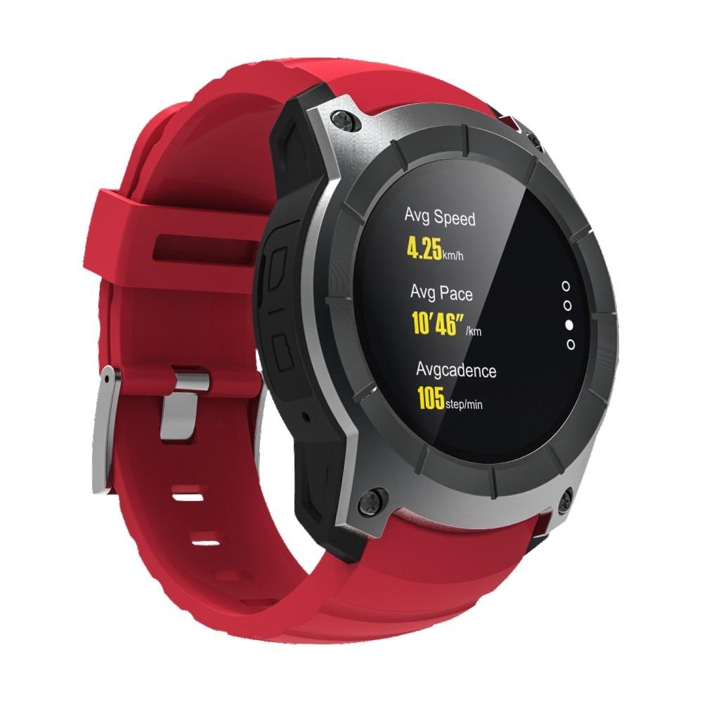 Smartch S958 gps Смарт часы многофункциональные спортивные часы монитор сердечного ритма часы Поддержка SIM TF карты барометр активности трек Mu - 6