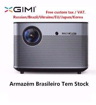 Original xgimi h2 projetor de cinema em casa 300 Polegada 1080 p completo hd 3d android bluetooth wifi suppor4k dlp tv beamer