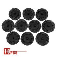 "10PCS 2 ""50mm מהיר שינוי Roloc קל רצועת & נקי דיסקים שחור עבור צבע חלודה הסרת אוטומטי משטח Prep"
