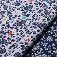 Cotton plain print fabric small floral handmade diy cotton clothing curtain tablecloth hug pillowcase fabric handmade accessorie