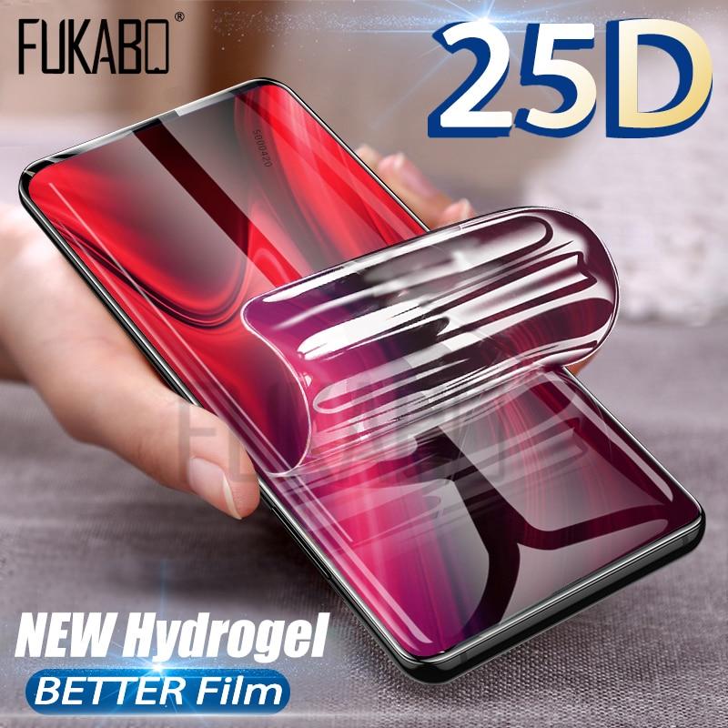 25D HD Screen Protector For Xiaomi mi 9 SE mi 8 Lite Redmi 7 Note 7 6 5 Pro Hydrogel Film For Redmi Note 4 4X MI8 MI9 Not Glass gadget