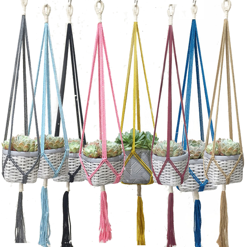 New Arrival Colorful Handmake Plant Hanger Handmake Flower Hanger Pot Hanger Plant Hanger POT TRAY PLANT TRAY