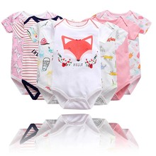 Baby clothing body overalls for kids Children's newborn 2021 gifts girl boy Bodysuit Infant twins carters summer onesie goods