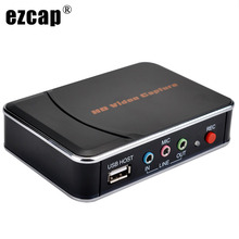 Echte Originele Ezcap280 Hdmi Ypbpr Hd Game Capture Recorder Box Video Record Voor Xbox PS3 PS4 Tv Stb Medische Dvd video Camera