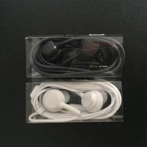 Image 5 - Oortelefoon Zwart 3.5Mm In Ear Met Microfoon Draad Headset Voor Samsung Galaxy S8 S9 Smartphone Hoofdtelefoon Akg