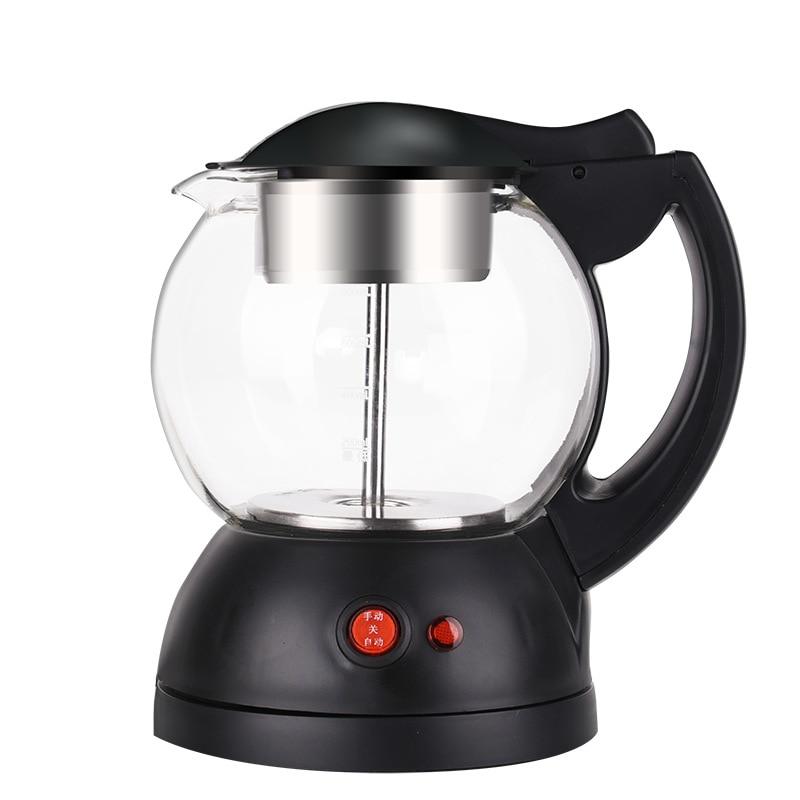 Электрический чайник водонагреватель Многофункциональный стеклянный чайник для здоровья чайник кофейник молочный котел Чайник Пуэр 1л