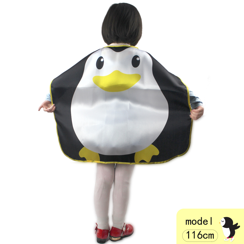 70*70 Cm SPECIAL Penguin Costume Cape Mask Kids Cosplay Party Carnival Mask Birthday Party Cute Dance Costume Animal Suits